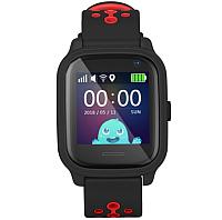 Умные часы детские Wonlex KT04 (черный) -