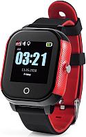 Умные часы Wonlex GW700s (черный/красный) -