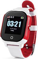 Умные часы Wonlex GW700s (белый/красный) -