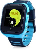 Умные часы детские Wonlex KT11 (синий) -