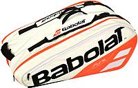 Сумка теннисная Babolat Rh X 12 Pure Strike / 751170-149 (белый/красный) -