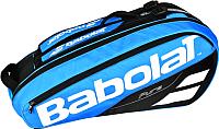 Сумка теннисная Babolat RH X 6 Pure Drive / 751171-136 (синий) -