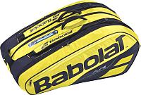Спортивная сумка Babolat RH X 12 Pure Aero / 751180-191 (черный/желтый) -