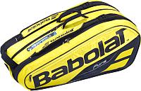 Сумка теннисная Babolat RH X9 Pure Aero / 751181-191 (желтый/черный) -