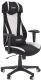 Кресло геймерское Halmar Abart (черный/белый) -