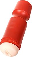 Мастурбатор для пениса ToyFa A-Toys / 763004 (красный/телесный) -