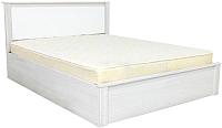 Двуспальная кровать SV-мебель Гамма 20 Ж 160x200 (ясень анкор светлый/сандал светлый) -