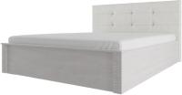 Каркас кровати SV-мебель Гамма 20 Ж 160x200 мягкое изголовье (ясень анкор светлый/сандал светлый) -