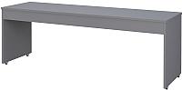 Письменный стол Polini Kids City 200x60 (серый) -