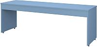 Письменный стол Polini Kids City 200x60 (синий) -
