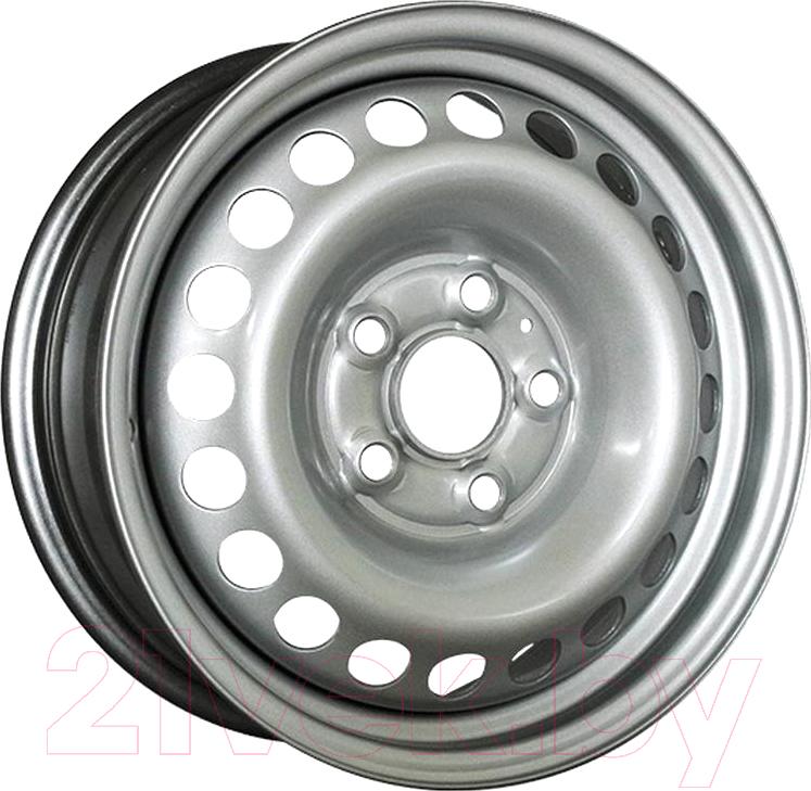 Купить Штампованный диск Trebl, 8265 17x7 5x114.3мм DIA 67.1мм ET 41мм Silver, Китай