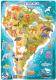 Пазл Dodo Южная Америка / R300178 (53эл) -