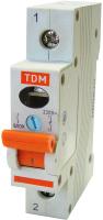 Выключатель нагрузки TDM SQ0211-0001 (мини-рубильник) -