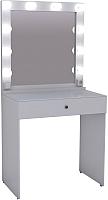 Туалетный столик с зеркалом Мир Мебели SV-01 с подсветкой -