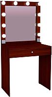Туалетный столик с зеркалом Мир Мебели SV-01B с подсветкой -