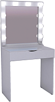 Туалетный столик с зеркалом Мир Мебели SV-01A с подсветкой -