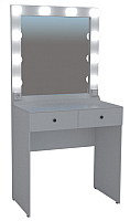 Туалетный столик с зеркалом Мир Мебели SV-02 с подсветкой -