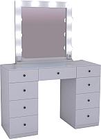 Туалетный столик с зеркалом Мир Мебели SV-03 с подсветкой -