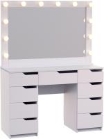 Туалетный столик с зеркалом Мир Мебели SV-06A с подсветкой -