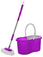 Набор для уборки пола Feniks Магик 360 UP-1 / FN650 (фиолетовый) -