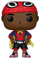 Фигурка Funko POP! Bobble. Marvel. Animated Spider-Man. Miles with Cape 33976  (Fun1573) -