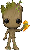 Фигурка Funko POP! Bobble. Marvel. Avengers Infinity War S2: Groot 35773 (Fun1666) -