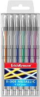 Набор ручек Erich Krause ER-301 Metallic /46525 (6шт) -