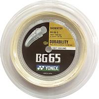 Струна для бадминтона Yonex Bg 65 Coil (200м, amber) -