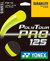Струна для теннисной ракетки Yonex Polytour PRO 125 SET / PTGP125 (12м, желтый) -