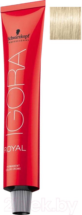 Купить Крем-краска для волос Schwarzkopf Professional, Igora Royal Permanent Color Creme 10-1 (60мл), Германия, блонд