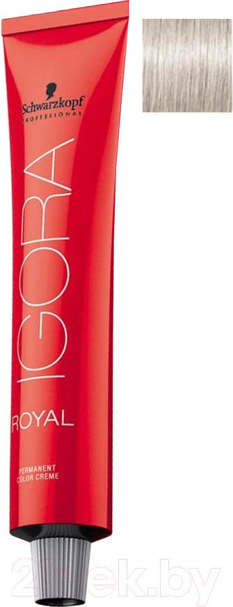 Купить Крем-краска для волос Schwarzkopf Professional, Igora Royal Permanent Color Creme 12-11 (60мл), Германия, блонд
