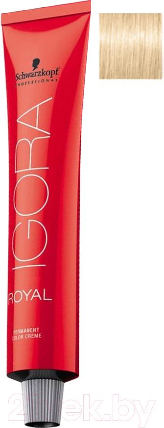 Купить Крем-краска для волос Schwarzkopf Professional, Igora Royal Permanent Color Creme 12-4 (60мл), Германия, блонд