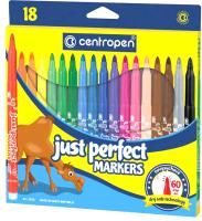 Фломастеры Centropen Just Perfect / 2510 1801 (18шт) -