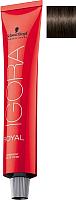 Крем-краска для волос Schwarzkopf Professional Igora Royal Permanent Color Creme 4-65 (60мл) -