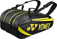 Сумка теннисная Yonex Racket Bag 8929 Black/Lime / BAG8929EX -