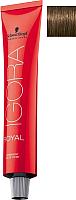 Крем-краска для волос Schwarzkopf Professional Igora Royal Permanent Color Creme 6-63 (60мл) -