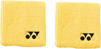 Напульсник Yonex Wrist Band AC 489 / AC489EX (2шт, желтый) -