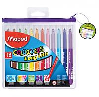 Набор фломастеров Maped Color Peps / 027931 (12шт) -