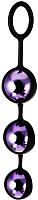 Бусы интимные ToyFa A-Toys / 764009 (фиолетовый) -