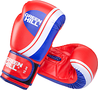 Боксерские перчатки Green Hill Knockout BGK-2266 / 14oz (красный) -