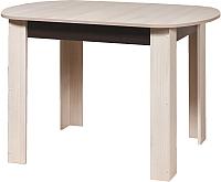 Обеденный стол Мебель-Класс Леон-2 (венге/дуб шамони) -