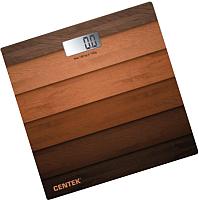 Напольные весы электронные Centek CT-2420 (дерево) -