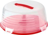 Емкость для хранения выпечки Curver 172569 (красный/прозрачный) -