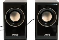 Мультимедиа акустика Dialog AST-15UP (черный) -