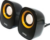 Мультимедиа акустика Dialog AC-06UP (черный) -