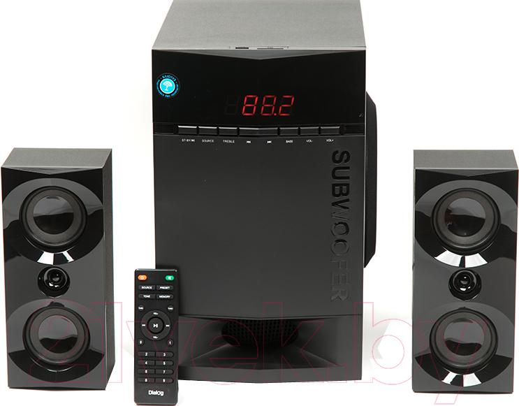 Купить Мультимедиа акустика Dialog, AP-230 (черный), Китай