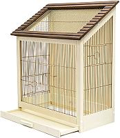 Клетка для птиц ZooM Ретро-кантри / RP8765 (золото) -