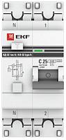 Дифференциальный автомат EKF PROxima АД-32 1P+N 32А/30мА / DA32-32-30-pro -