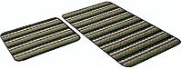 Набор ковриков Shahintex PP Loop Loop 50x80/50x40 (зеленый) -