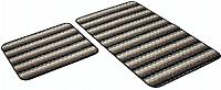 Набор ковриков Shahintex PP Loop Loop 50x80/50x40 (кофе с молоком) -